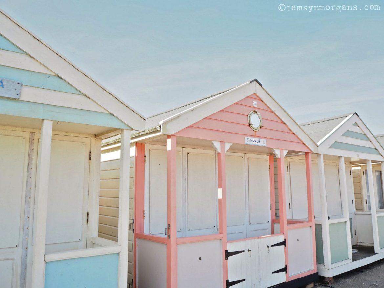 Pastel beach huts Southwold