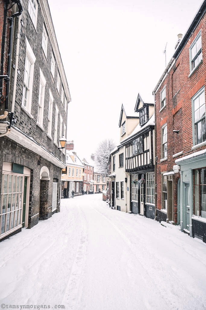 When Norwich Became Narnia