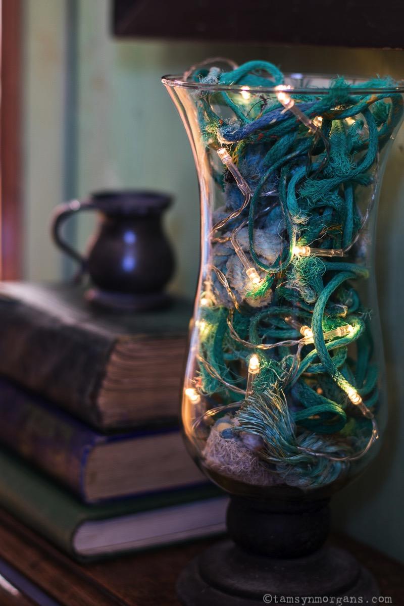 Recycled rope jar