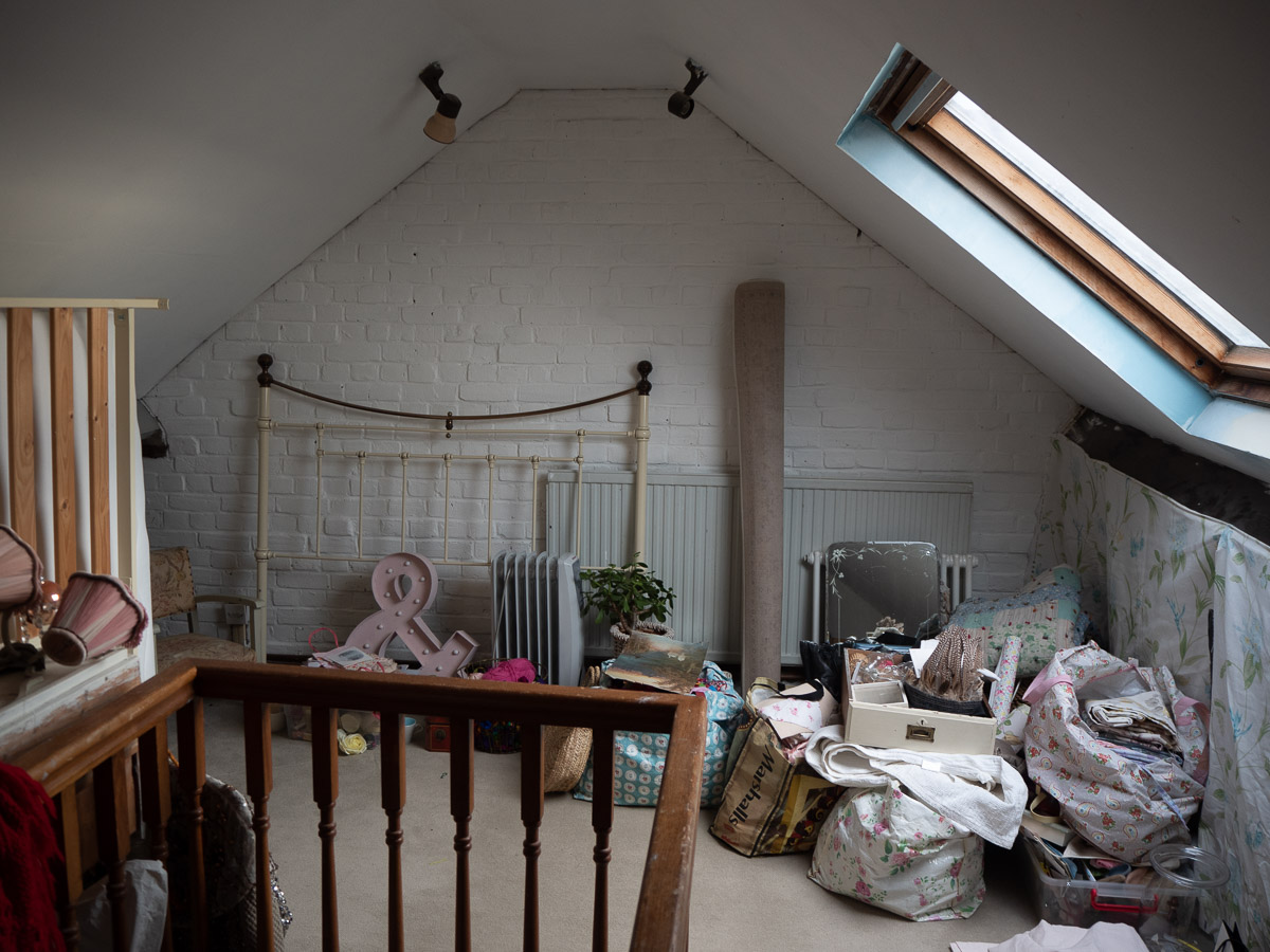 Attic Room Makeover