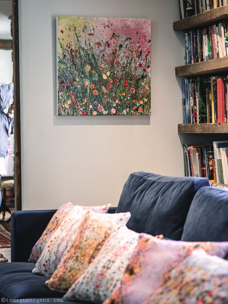 Yvonne Coomber cushions and art