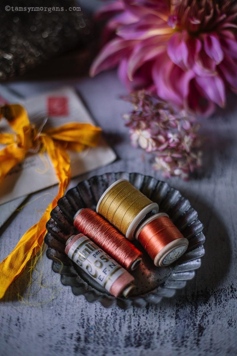 vintage cotton reels