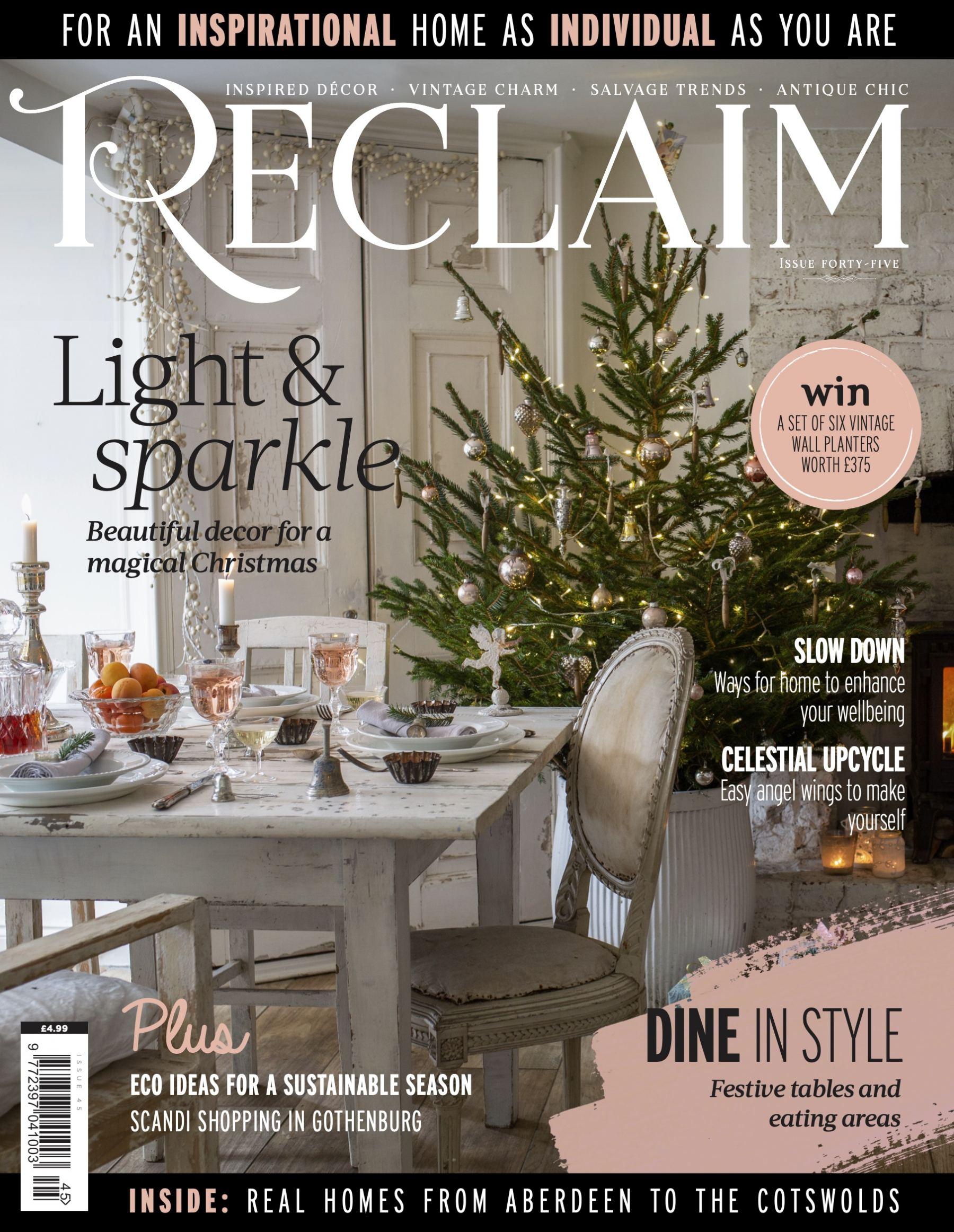 Reclaim Magazine Christmas Issue