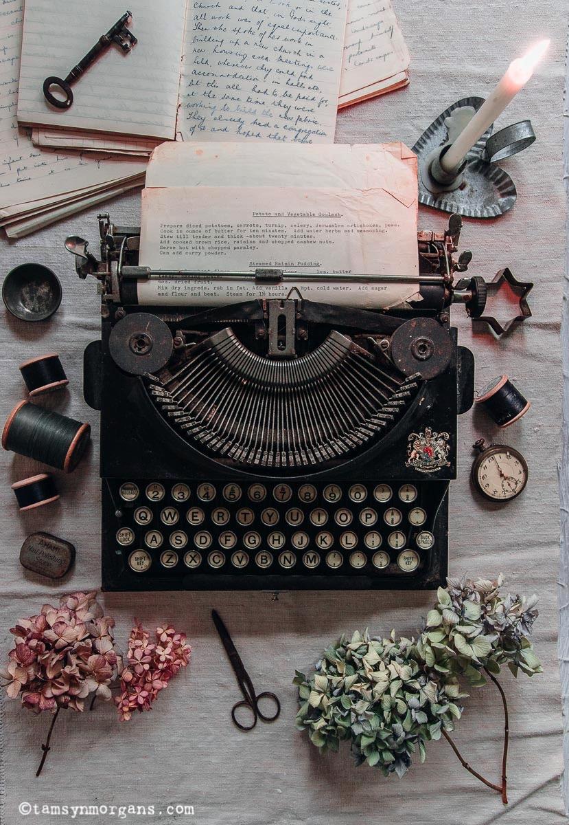 Vintag typewriter