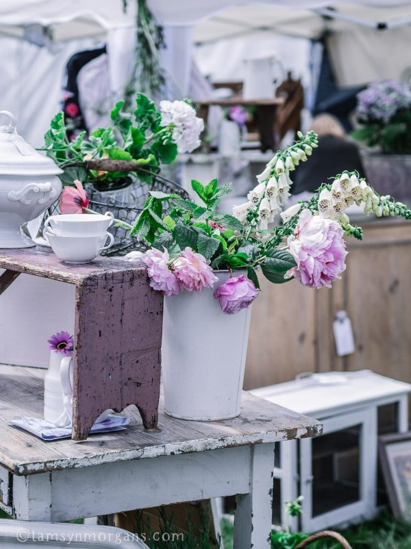A stall at the Country Brocante