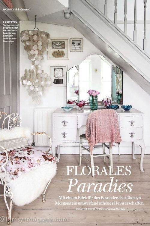 Tamsyn Morgans home feature TRaumWohnen Magazine